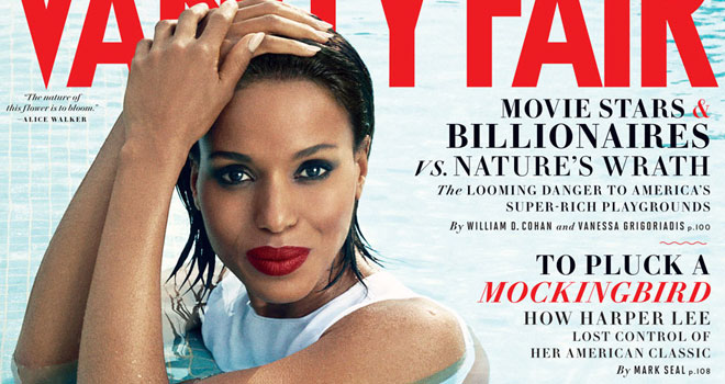 Kerry Washington August 2013 Vanity Fair Cover