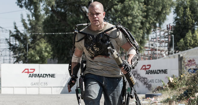 Matt Damon in 'Elysium'