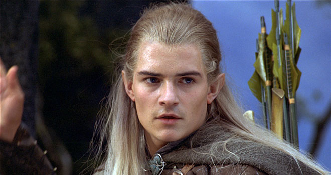 Orlando Bloom as Legolas in 'Lord of the Rings'