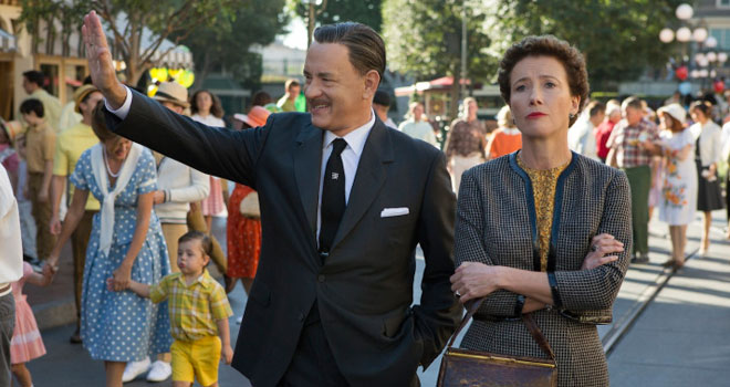 Tom Hanks and Emma Thompson in 'Saving Mr. Banks'