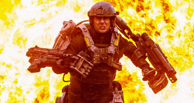 Tom Cruise in 'Edge of Tomorrow'