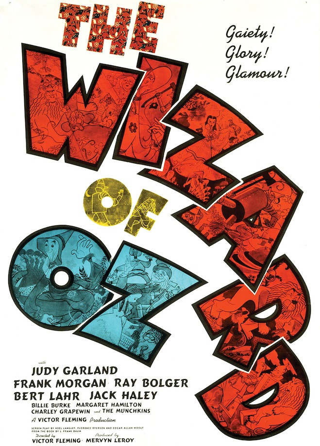The Wizard of Oz 1939 poster