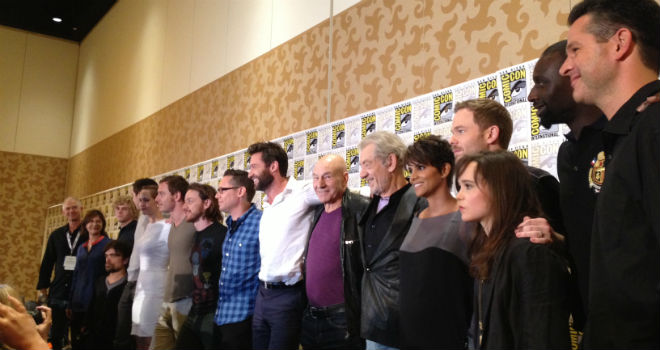 x-men days of future past comic-con