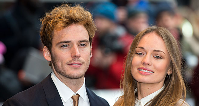 'Hunger Games: Catching Fire' Star Sam Claflin Ties the ...