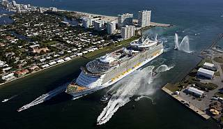 Worlds Largest Cruise Ship Allure Of The Seas Arrives In Florida - Allure cruise ship