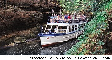 top 5 attractions in Wisconsin Dells