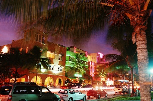 Ocean Drive, Miami Beach, Florida, BCS bowl game travel