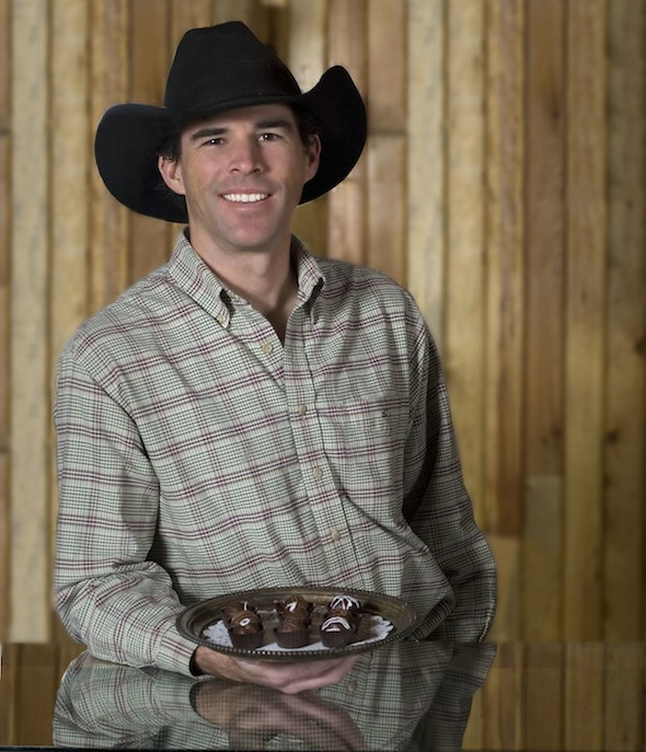 Tim Kellogg Cowboy Chocolatier Meeteetse Wyoming