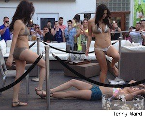 Spring Break Miami Beach Lap Dance Contest
