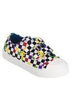 Checkered Trainers, £8