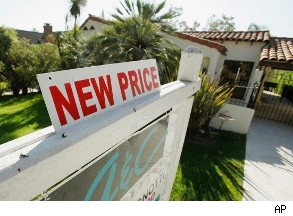 home prices drop