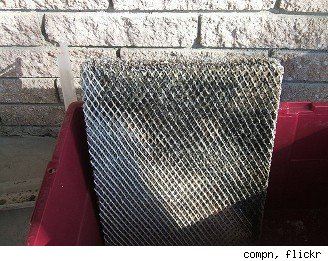 mold on air conditioner filter