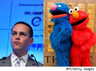 James Murdoch Muppet Mansion