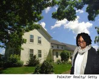Whoopi Goldberg Vermont home