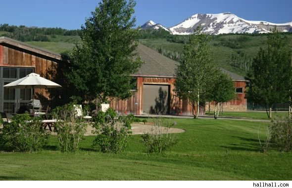 House Of The Day Studly Horse Ranch In Wild Wyoming Aol Finance