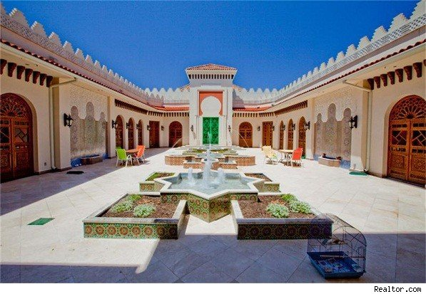 Moorish palace