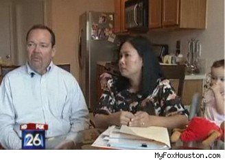 Houston Family foreclosed