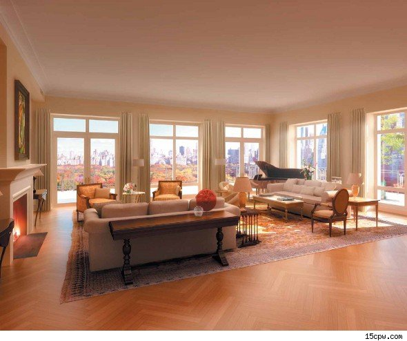 Real Estate Nyc Apartments For Rent: Former Citigroup CEO Sandy Weill's Central Park Penthouse