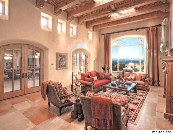 You Don T Have To Be A Hippie Reciate This Strikingly Natural Pueblo Revival Style House In Where Else Santa Fe N M