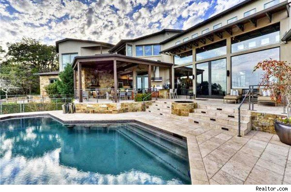 House of the day texas hill country home with city outlook aol finance - House on the hill 2012 ...