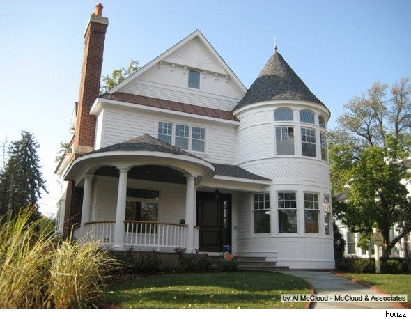 Queen Anne House A Turreted Transitional Design