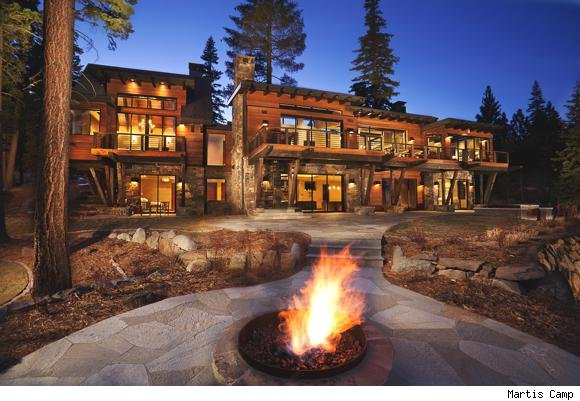 House of the day luxury by lake tahoe aol finance for Luxury lake house