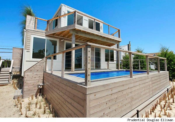 Hamptons eco-container home