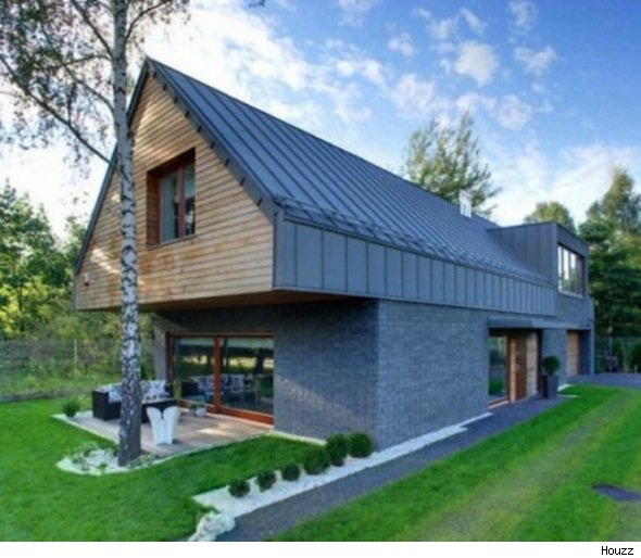 modern gable house style spotlight aol finance