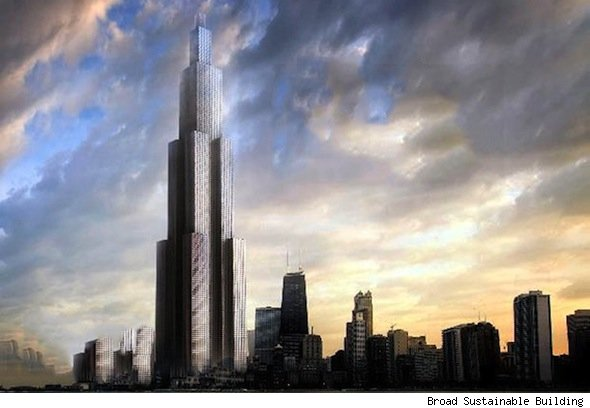 worlds tallest building china Broad Sustainable