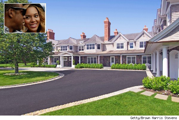 Jay-Z Beyonce rent Hamptons house of the day