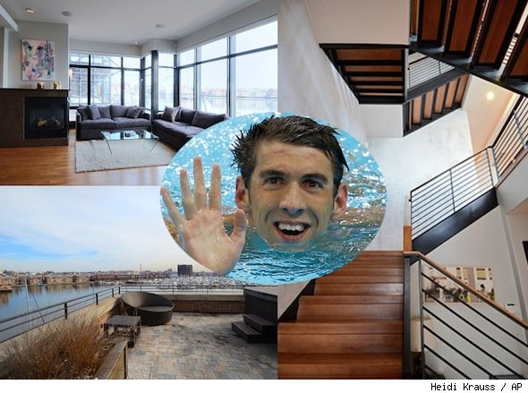 michael phelps Baltimore condo