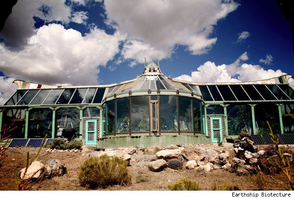 Earthship Taos New Mexico