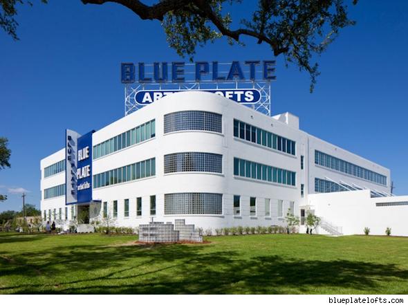 factory home conversion Blue Plate