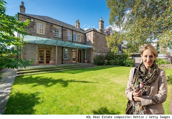 JK Rowling lists Scottish farmhouse home