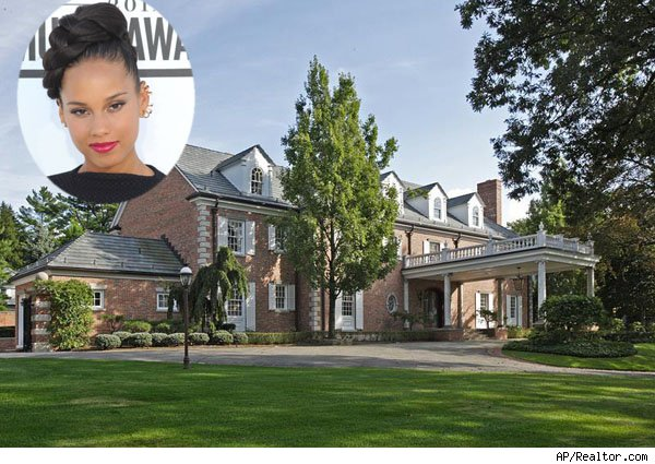 Alicia Keys and Eddie Murphy's home
