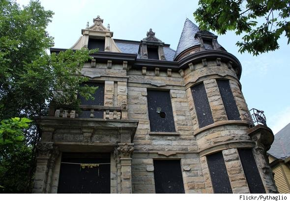 Cleveland s Franklin Castle is considered haunted. 10 Haunted Houses You Wouldn t Want to Live In   AOL Finance