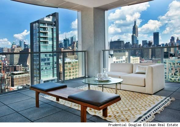 manhattan penthouse with sky garage - Manhattan Penthouse Apartments