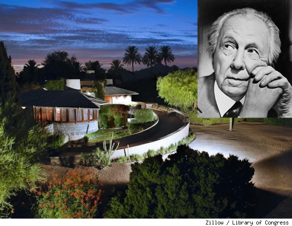Frank Lloyd Wright, David and Gladys Wright House