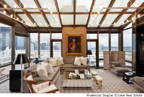 Manhattan penthouse for sale the property dubbed a by for Penthouses manhattan for sale