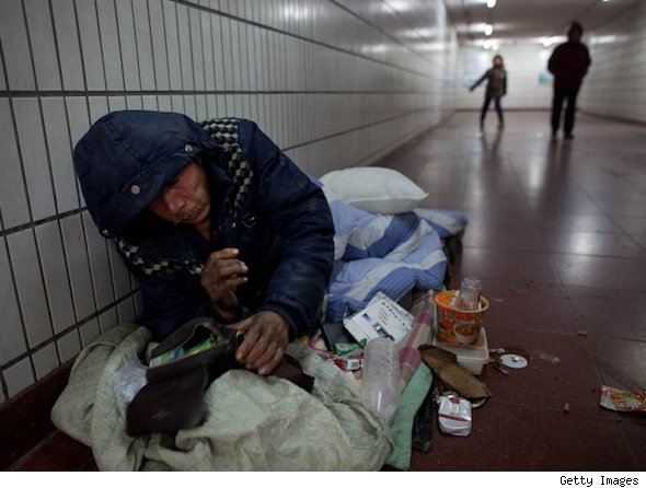 Homeless rate stays steady.