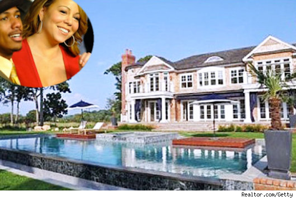 Celebrity real estate deals of 2012, Mariah Carey and Nick Cannon