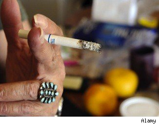 Secondhand smoke in apartment buildings