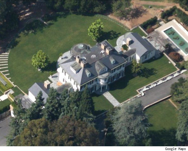 2nd most expensive home sale: this mansion in Woodside, Calif.