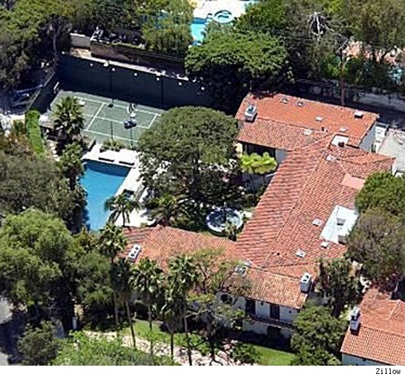 Billy Bob Thornton, Angelina Jolie's former home in Beverly Hills, Calif.