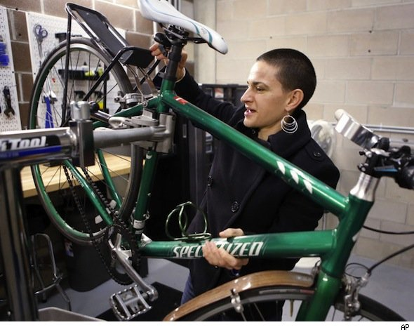 Her bike friendly home helps Rose Barcklow live without a car.