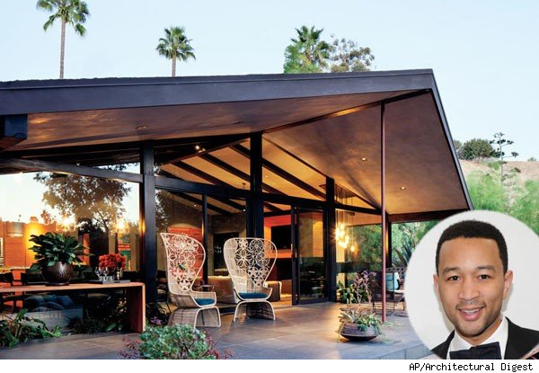 John Legend's Hollywood home