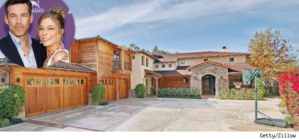 LeAnn Rimes, Eddie Cibrian and their home in Hidden Hills, Calif.