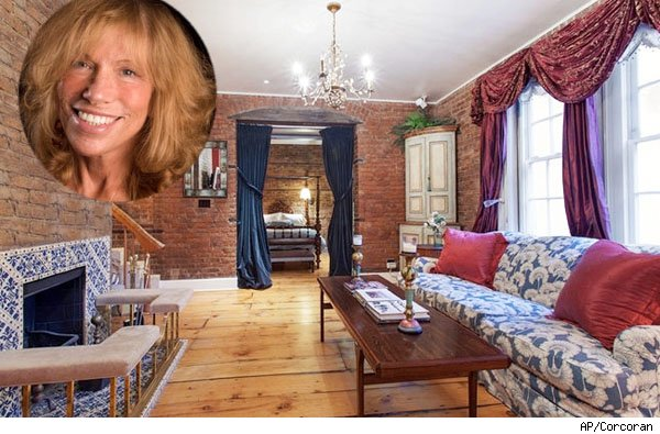 Carly Simon townhouse in New York City.