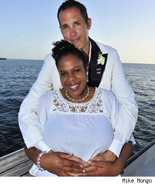 Living apart together: Mike Mongo and Leonie Gordon
