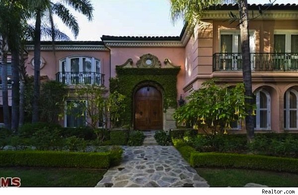 Christina Aguilera home, Beverly Hills